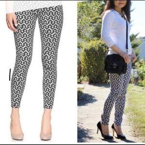 Gap 1969 Geometric print legging jeans